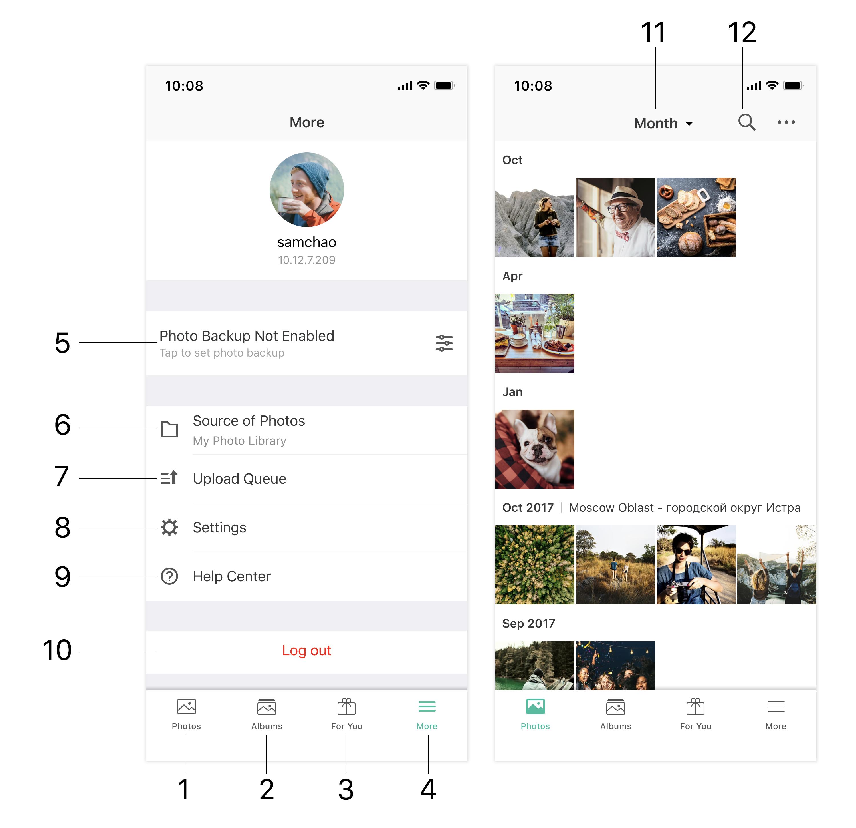 Moments (iOS) | Synology Inc