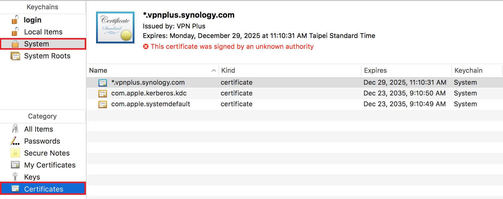 Synology SSL VPN   Synology Inc