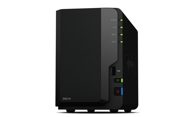 DS218 | Synology Inc.