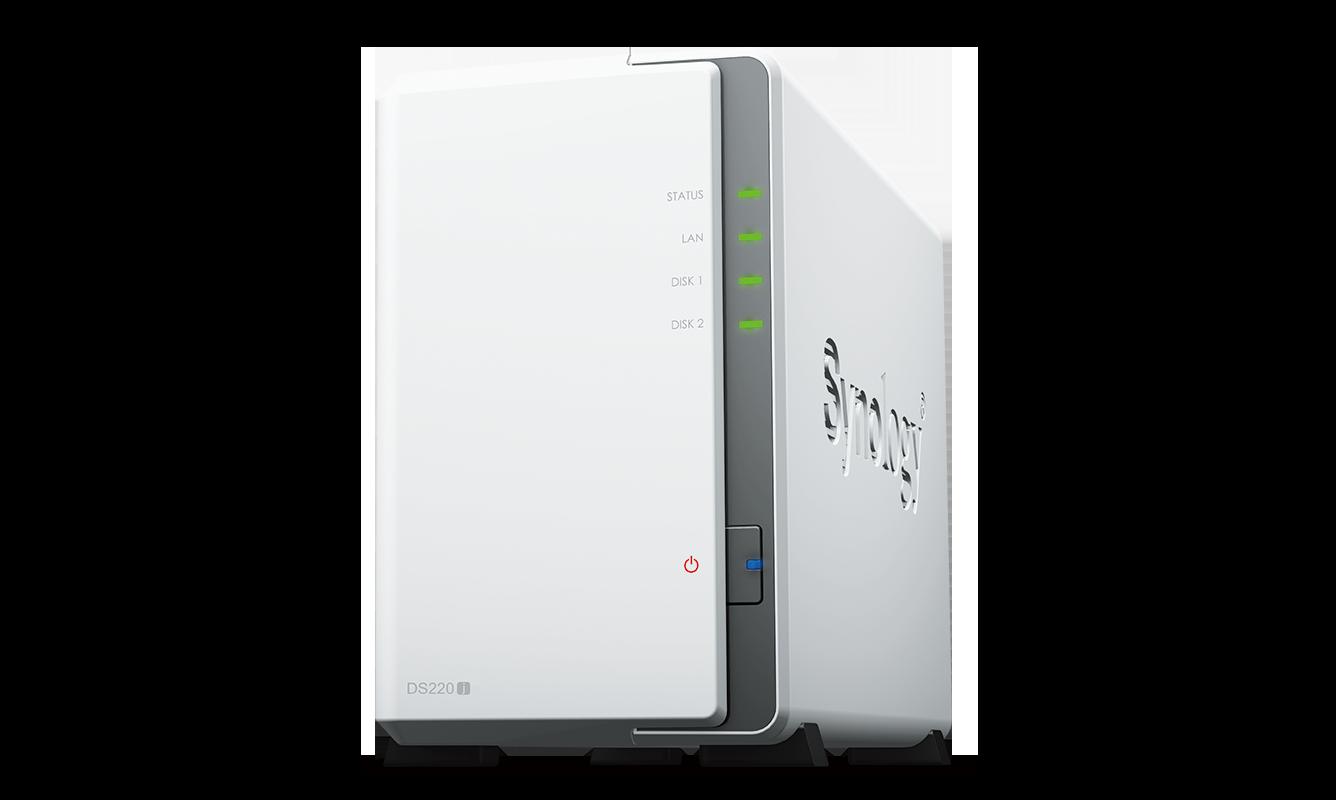 capacit/é : 6000 Go Synology DiskStation DS220j Serveur NAS 2 Baies de Bureau 6 T Disque Dur Type WD Red