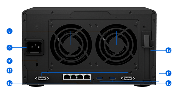 Synology NAS DS3018xs Hardware