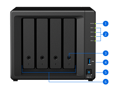 DiskStation DS418 | Synology Inc