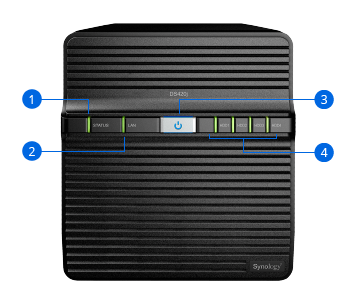 Synology NAS DS420j