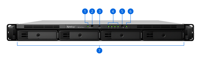RackStation RS1619xs+ | Synology Inc