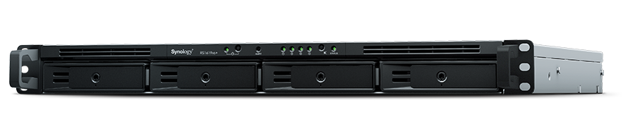 DSM Operating System Synology RackStation RS1619xs+ iSCSI NAS Server with Intel Xeon 2.2GHz CPU 1TB SSD and 8TB HDD Rail Kit 16GB Memory