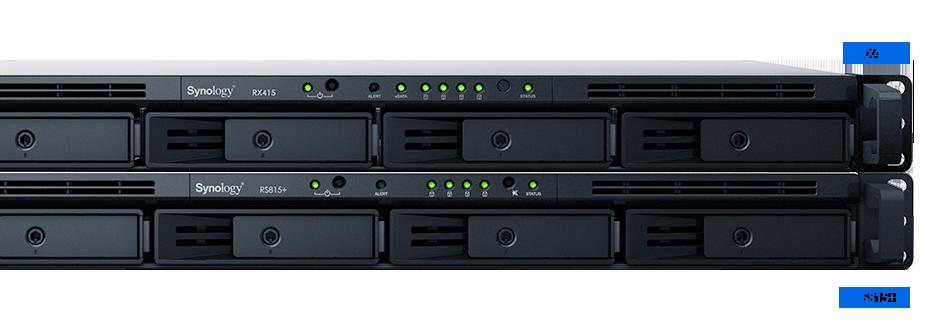 RackStation RS815+ | Synology Inc.