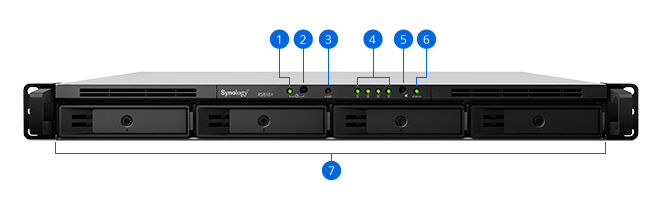Synology NAS RS818+