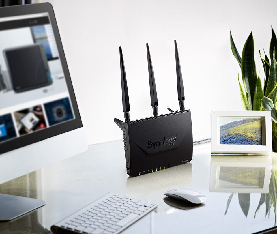 how to connect synology to network