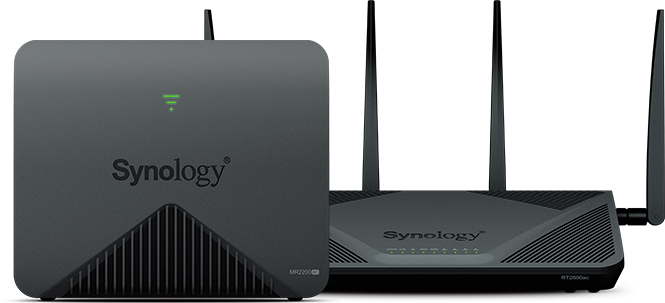 Synology RT2600ac │ AC2600 high-speed Wi-Fi router │ Parental
