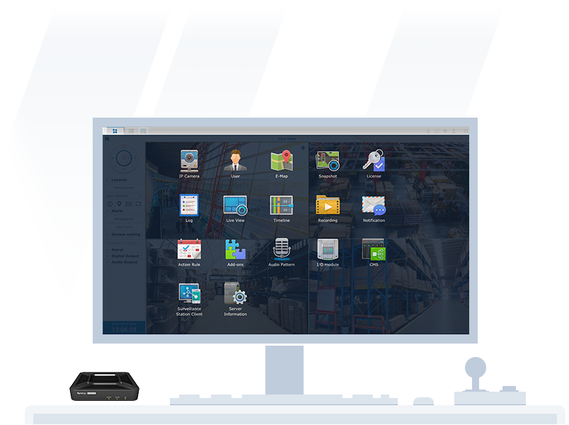 Synology VS Support most Surveillance station features