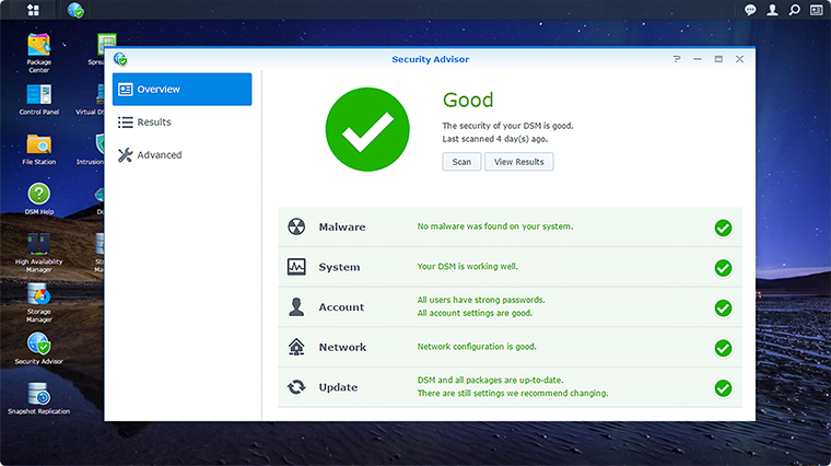 Synology NAS Trust Level