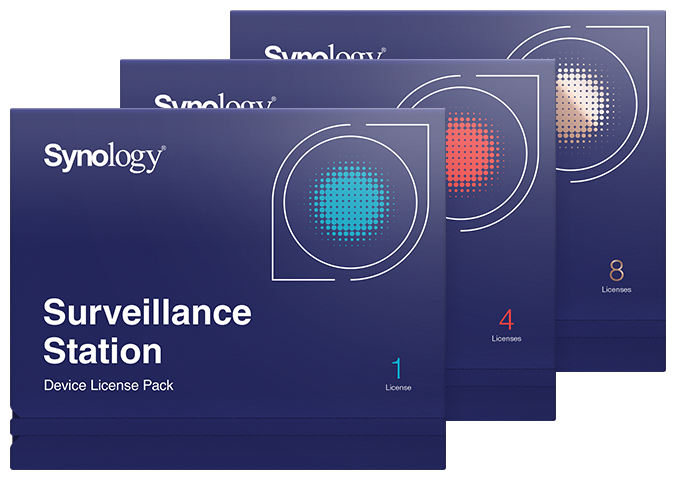 Surveillance Device License Pack | Synology Inc