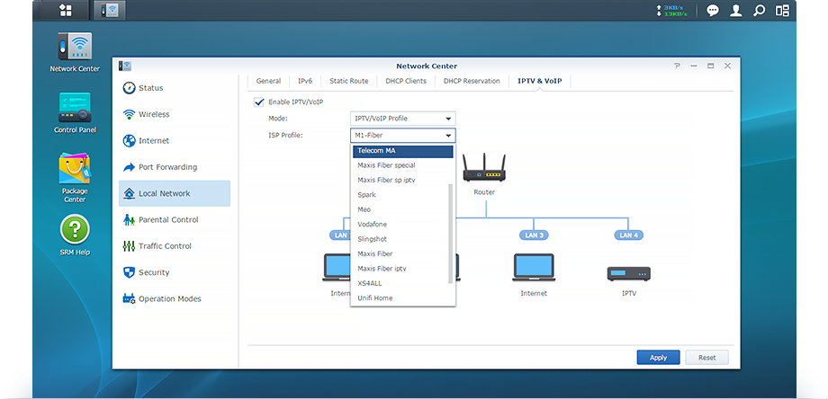 Network Connectivity │ Synology Router Manager | Synology Inc