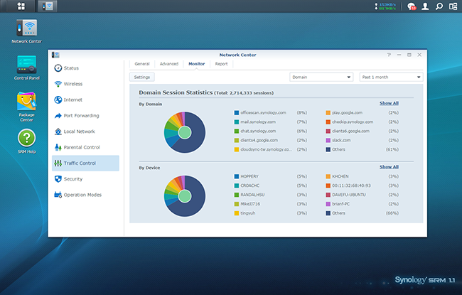 Bandwidth Management │ Synology Router Manager | Synology Inc